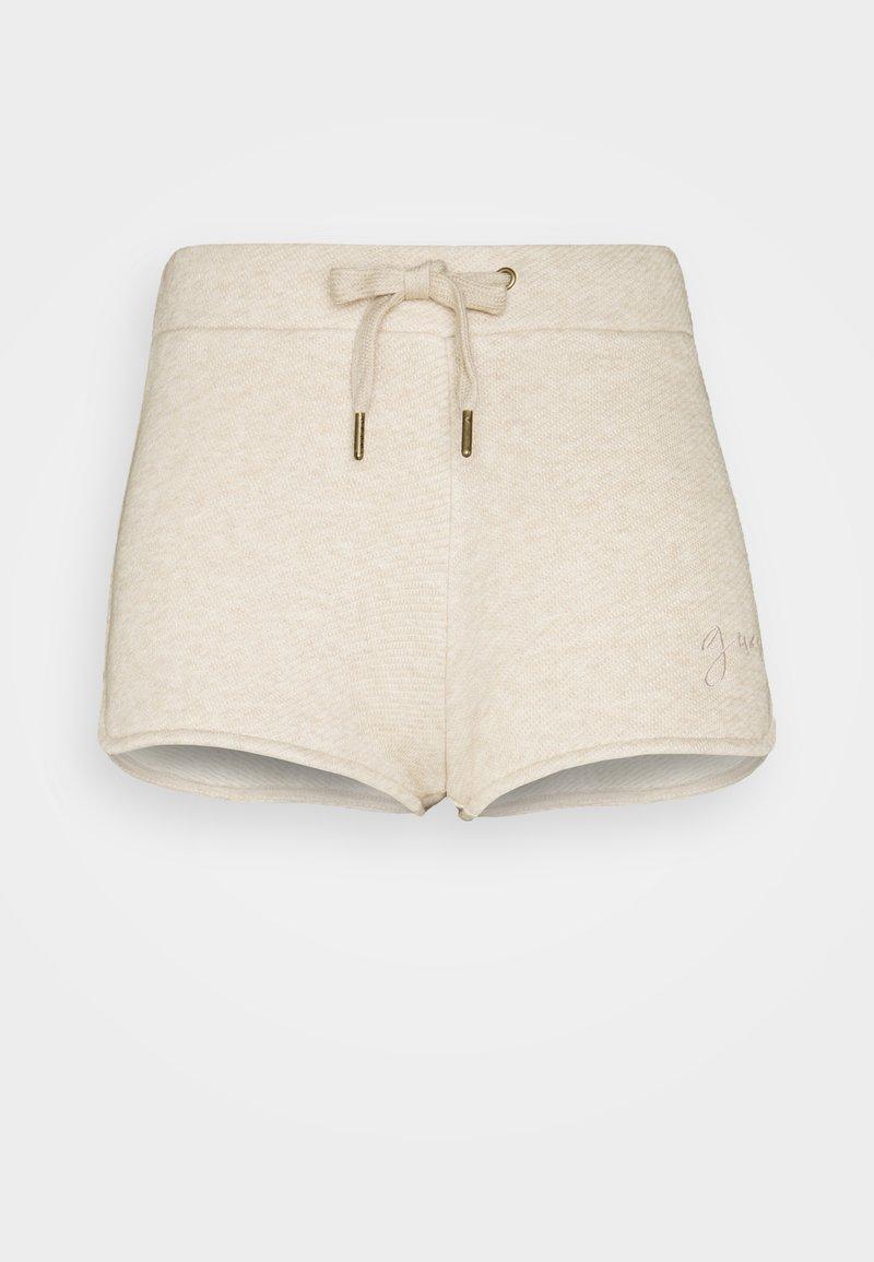 Guess - SHORT PANT - Pyjama bottoms - light brown melange