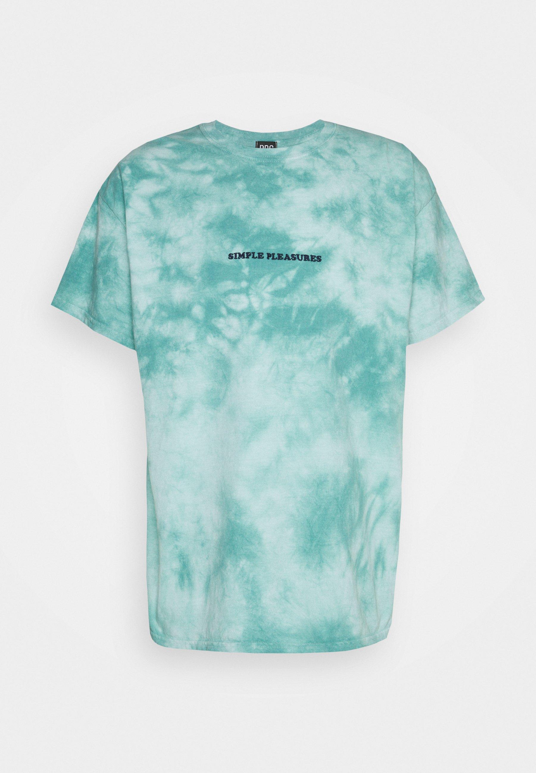 Women TIE DYE EMBROIDERED TEE UNISEX - Print T-shirt