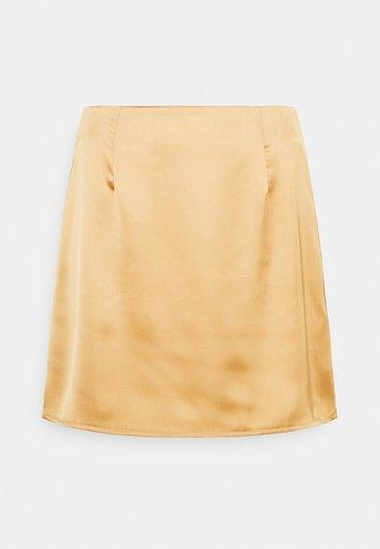 SKIRT - Mini skirt - stone