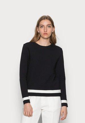 OTTOMAN COLOUR BLOCK - Sweatshirt - black
