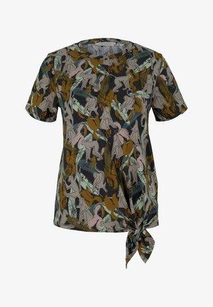 T-shirt imprimé - abstract monkey print