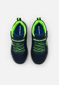 Skechers - MICROSPEC - Trainers - navy/lime/blue - 3