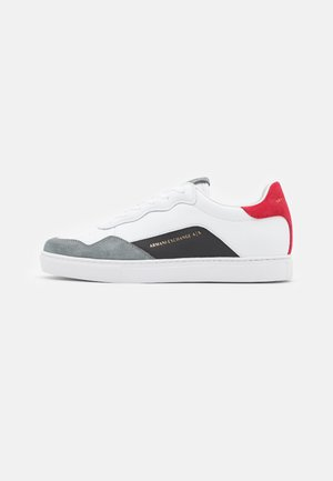 Sneakersy niskie - white/red
