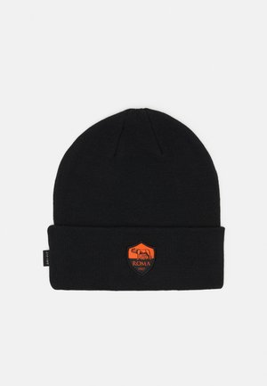 AS ROM DRY BEANIE - Mössa - black/safety orange