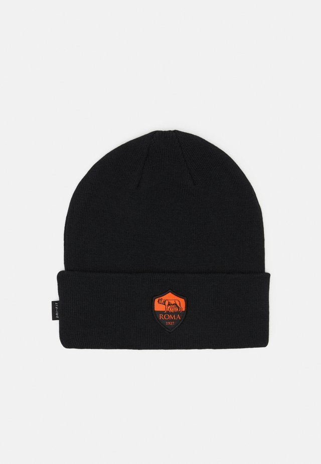 AS ROM DRY BEANIE - Bonnet - black/safety orange