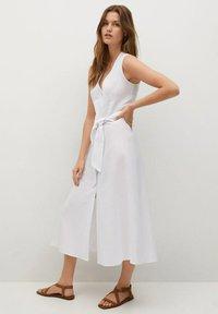 Mango - Shirt dress - white - 1