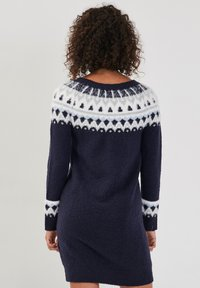Cache Cache - GERADES - Jumper dress - bleu marine - 2