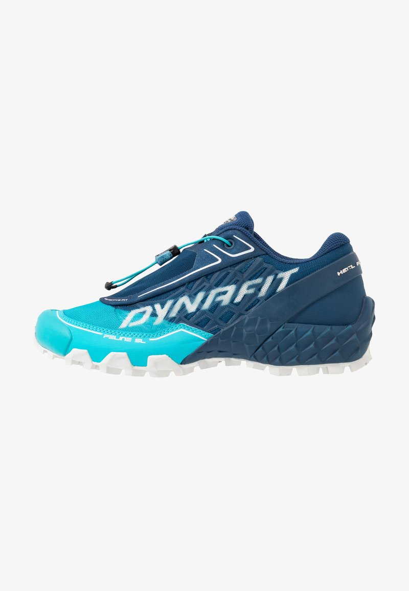 Dynafit - FELINE SL - Trail running shoes - poseidon/silvretta