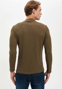 DeFacto - T-shirt à manches longues - khaki - 5