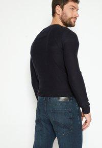 TOM TAILOR - MARVIN - Džíny Straight Fit - dark-blue denim - 6