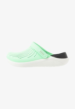 LITERIDE - Pantofle - neo mint/almost white