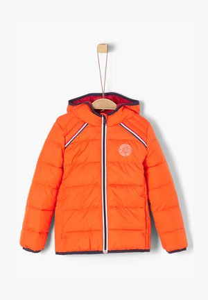MIT TAPE-DETAIL - Winter jacket - orange