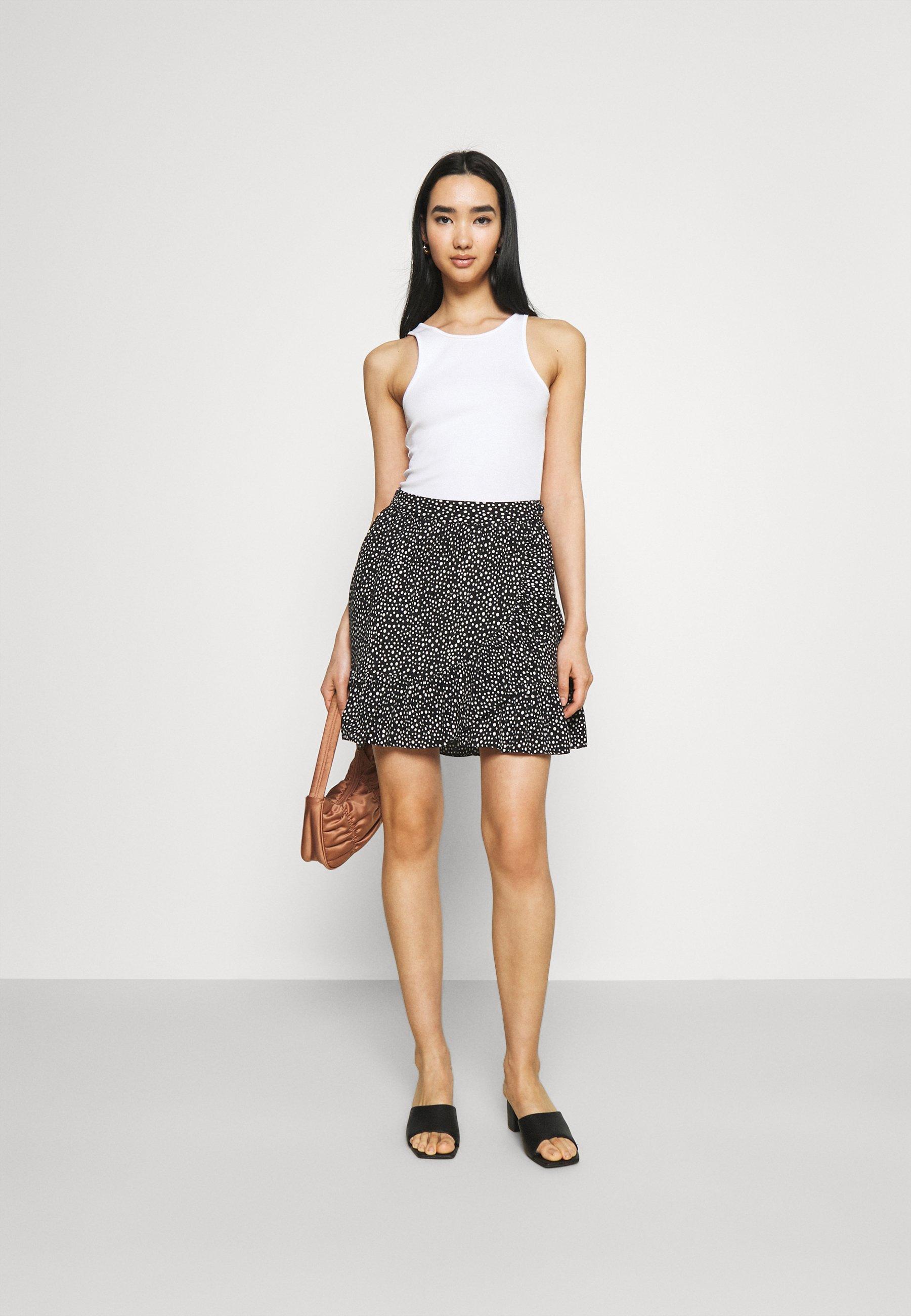 Women VMDICTHE SHORT WRAP SKIRT - Wrap skirt