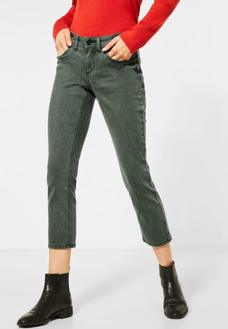 Street One - Slim fit jeans - grün