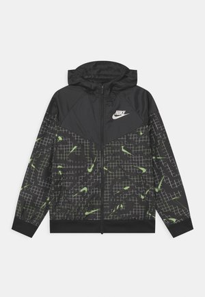 Training jacket - volt/black