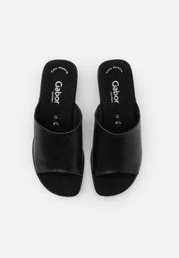 Gabor Comfort - Heeled mules - black - 5