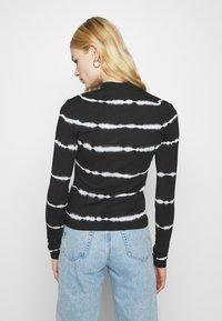 Weekday - VERA MOCKNECK - Long sleeved top - black - 2