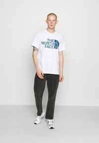 The North Face - STANDARD TEE - Print T-shirt - white/clear lake blue - 1
