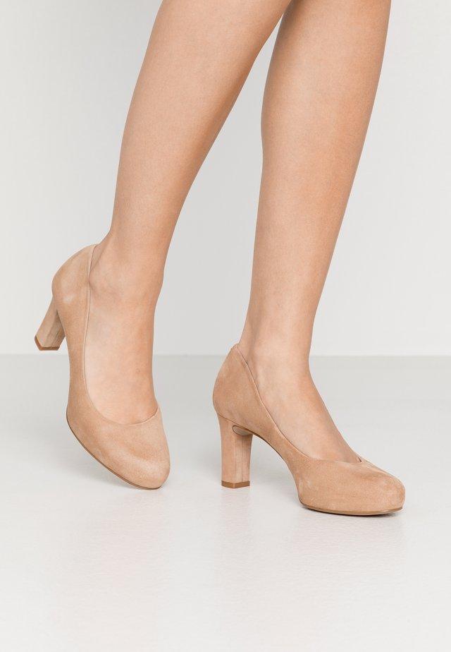 NUMIS - Zapatos de plataforma - nude
