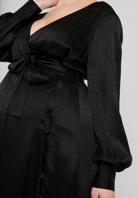IVY & OAK Maternity - DRESS - Vestito estivo - black - 6