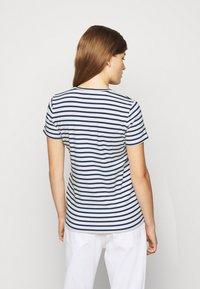 Lauren Ralph Lauren - REFINED  - Print T-shirt - white/lauren navy - 2