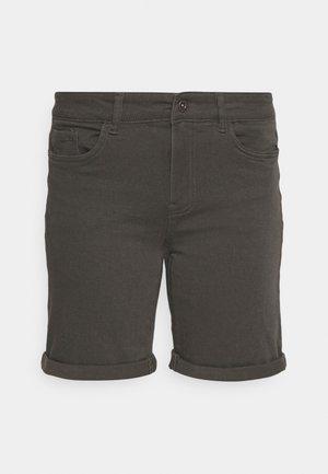 VMHONNISEVEN LONG FOLD - Szorty jeansowe - beluga