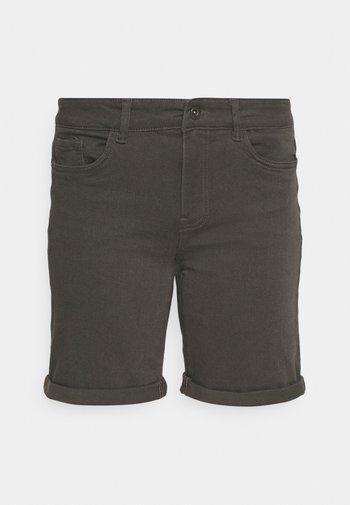 VMHONNISEVEN LONG FOLD - Denim shorts - beluga