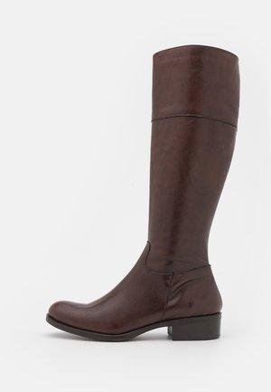 ALIENA - Vysoká obuv - choco