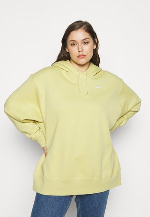 HOODIE TREND - Sweat à capuche - tea tree mist/white