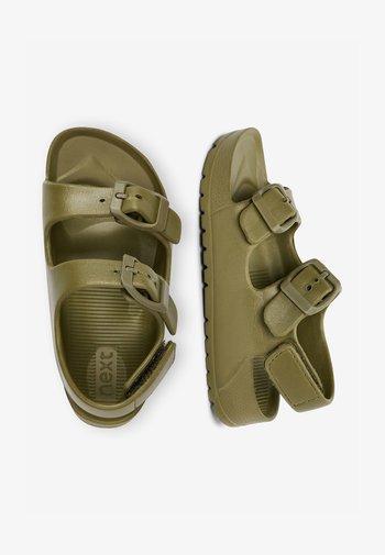 Walking sandals - green