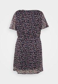 Vero Moda Curve - VMKAY WRAP DRESS  - Day dress - navy blazer - 5