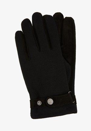 Fingervantar - schwarz