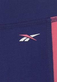 Reebok - BLOCK FULL  - Leggings - Trousers - navy - 2
