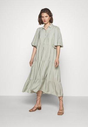 KIRITAGZ DRESS - Abito a camicia - pale green
