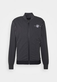 SIKSILK - DUAL STRIPE BOMBER - Bomberjacks - black/white - 3