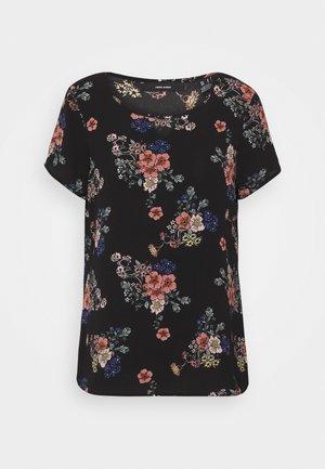 VMSAGA - T-shirt med print - black