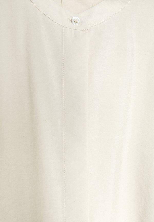 Marc O'Polo BLOUSE LONG SLEEVE - Koszula - raw cream/mleczny GPTH