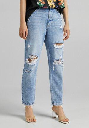MIT RISSEN  - Zúžené džíny - blue denim