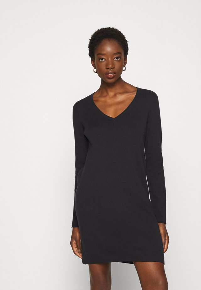 VMDIANE V NECK DRESS  - Shift dress - black