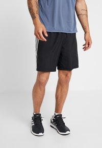 adidas Performance - RUN IT SHORT - Pantalón corto de deporte - black - 0