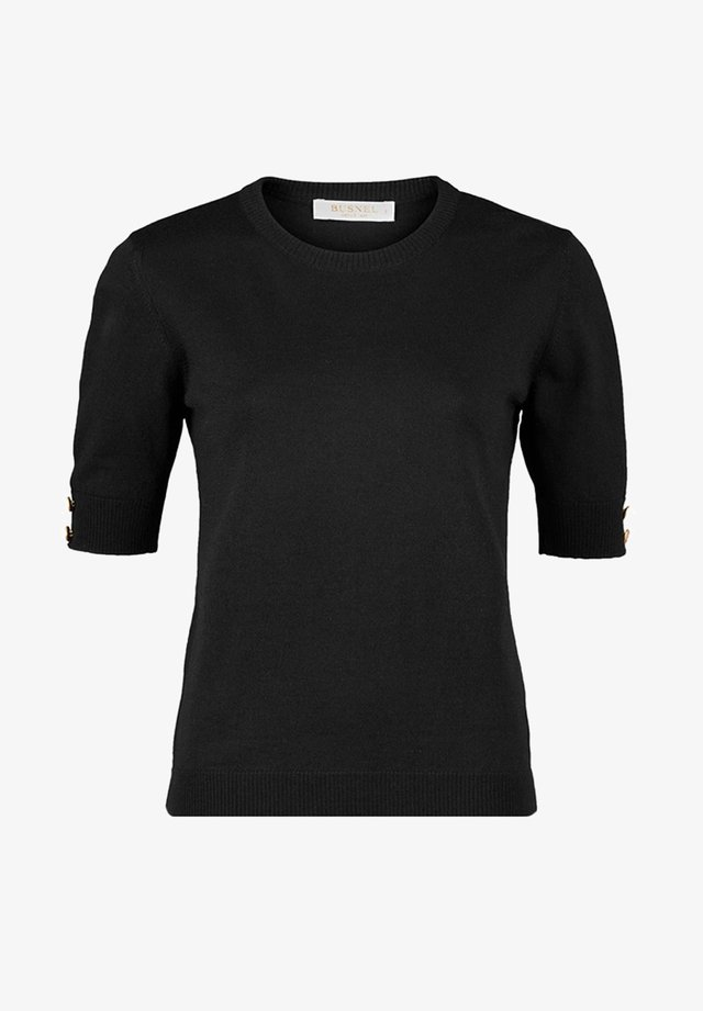LUCCA  - T-shirts - black