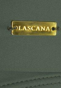LASCANA - PANTS BAND - Bikini bottoms - olive - 2