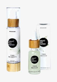 I WANT YOU NAKED - THE BEAUTY & THE BEAST FACE CREAM AND SERUM - Set de soins du visage - - - 0