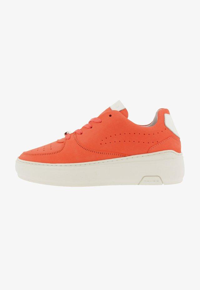 REHAB THORA II NUB SNEAKER WOMEN - Sneakers laag - coral