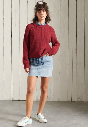 FREYA TWEED - Jumper - vermont red tweed