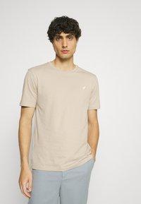 Pier One - 5 PACK - T-shirt - bas - dark grey/dark blue/olive - 1