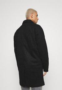 Denim Project - COAT - Klasický kabát - black - 2