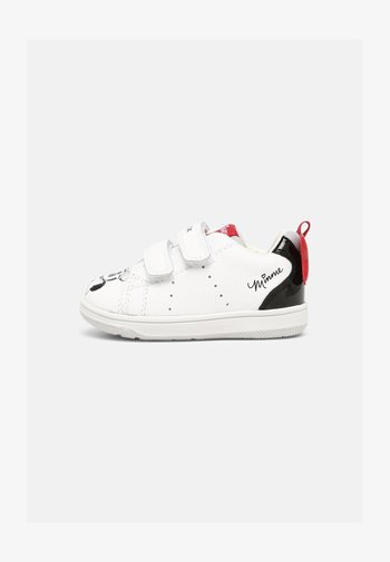 DISNEY MINNIE MOUSE BABY NEW FLICK GIRL - Trainers - white/black