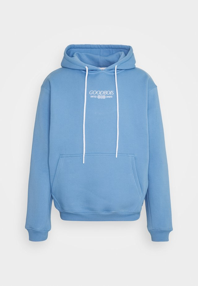TRADEMARK HOODY - Sweater - ice blue
