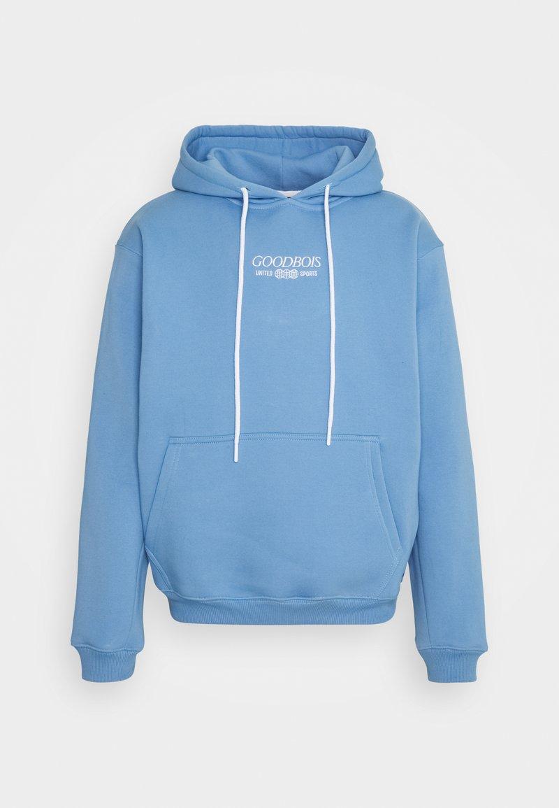 GOODBOIS - TRADEMARK HOODY - Sweater - ice blue